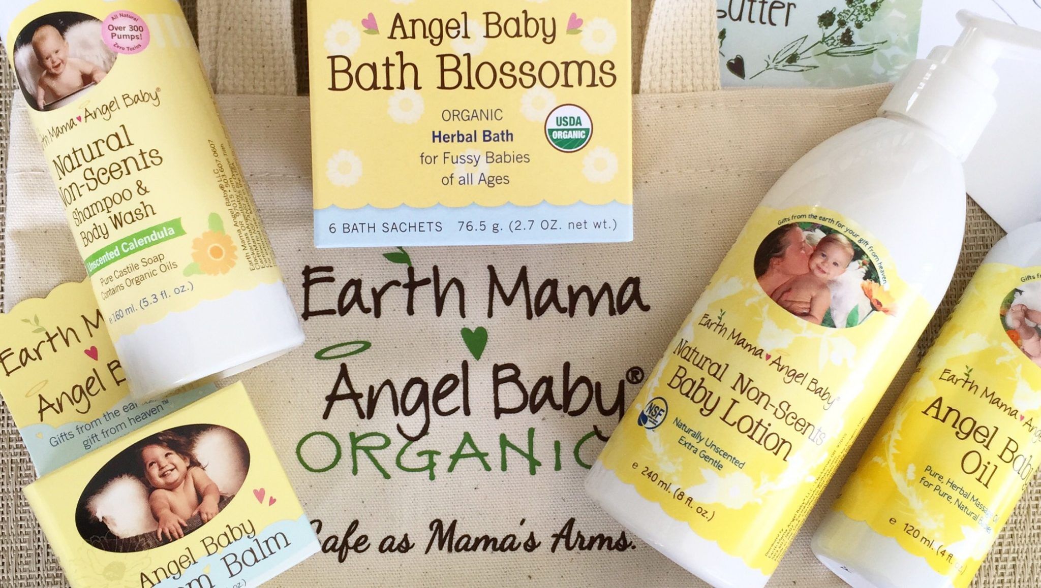My Favorite Natural Baby Care: Earth Mama Angel Baby